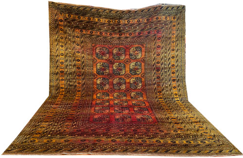 Afghan Gold Room Size Rug