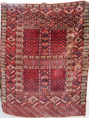 Antique Hatchli Rug 136 x 132cm