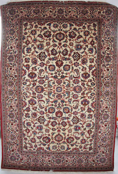 Kashan Rug c1940 215 x 135cm