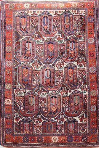 Afshar Tribal Rug 165 x 125cm