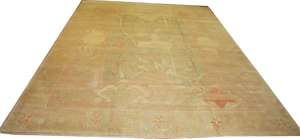 Arts and Crafts large Ziegler Rug