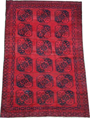 Old Afghan Ersari rug 360 x 235 cm