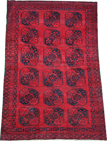 Afghan red carpet 355 x 235 cm