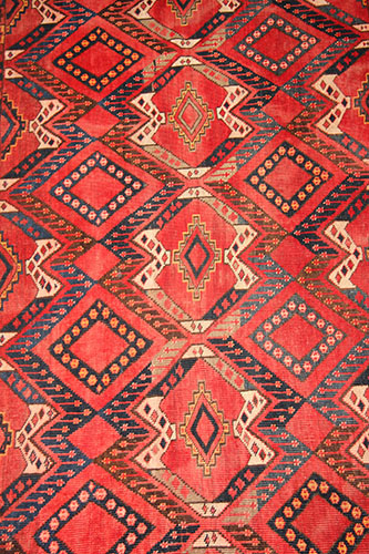 Old Turkmen Beshir Juval rug 200 x 115 cm