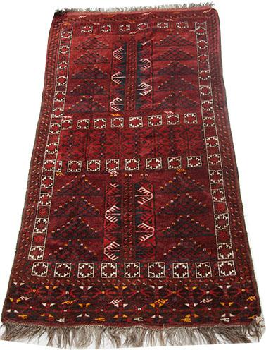 Afghan Beshir rug 190 x 111 cm