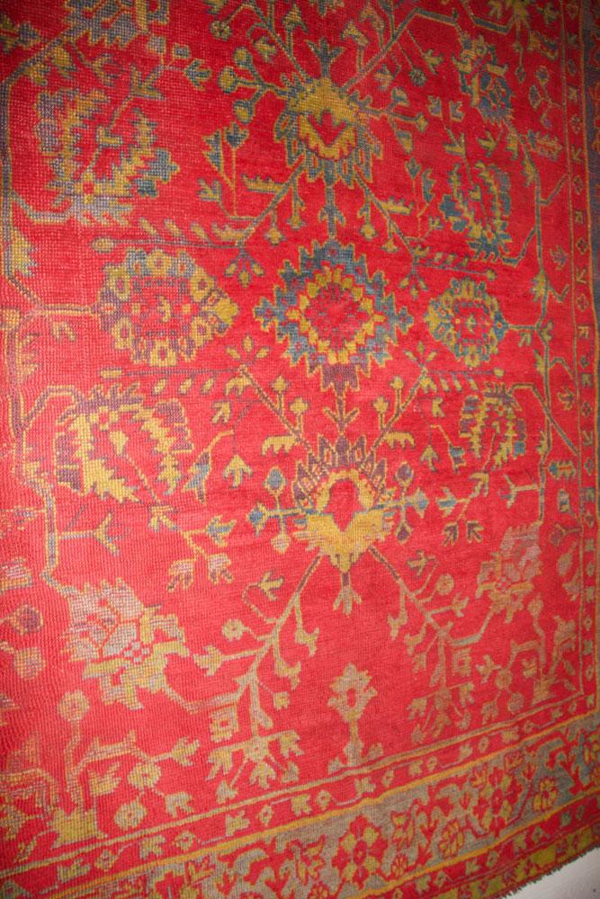 Antique Turkish Ushak rug 300 x 260cm