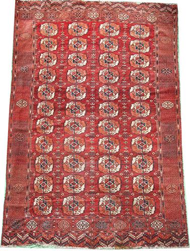 Tekke Turkmen rug 324 x 225 cm