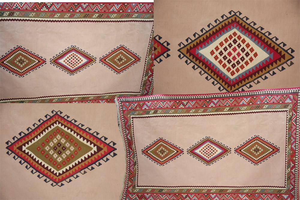 DIAMOND DESIGN PERSIAN QASHGAI KILIM