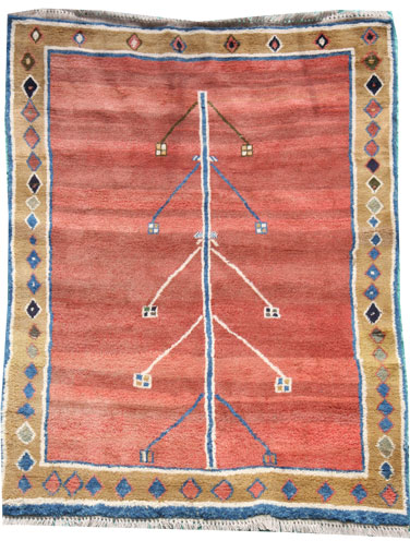 Iranian Gabbeh Rug 235 x 195 cm