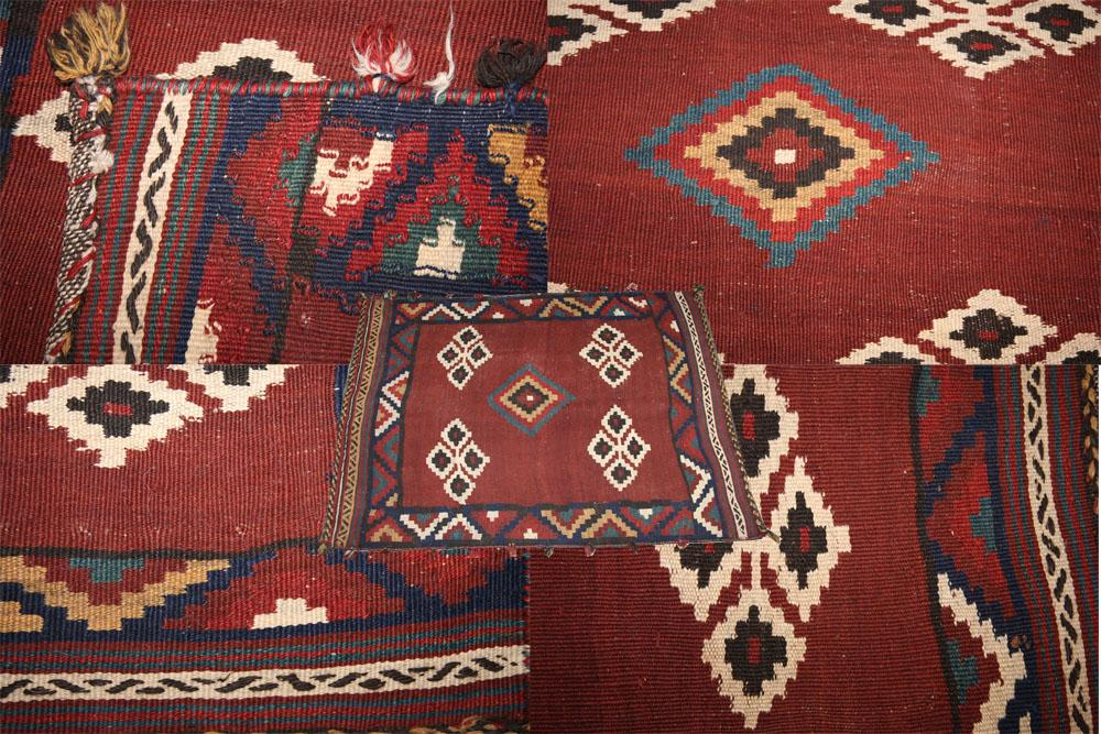 KILIM MADE BY AFSHAR TRIBES IN IRAN