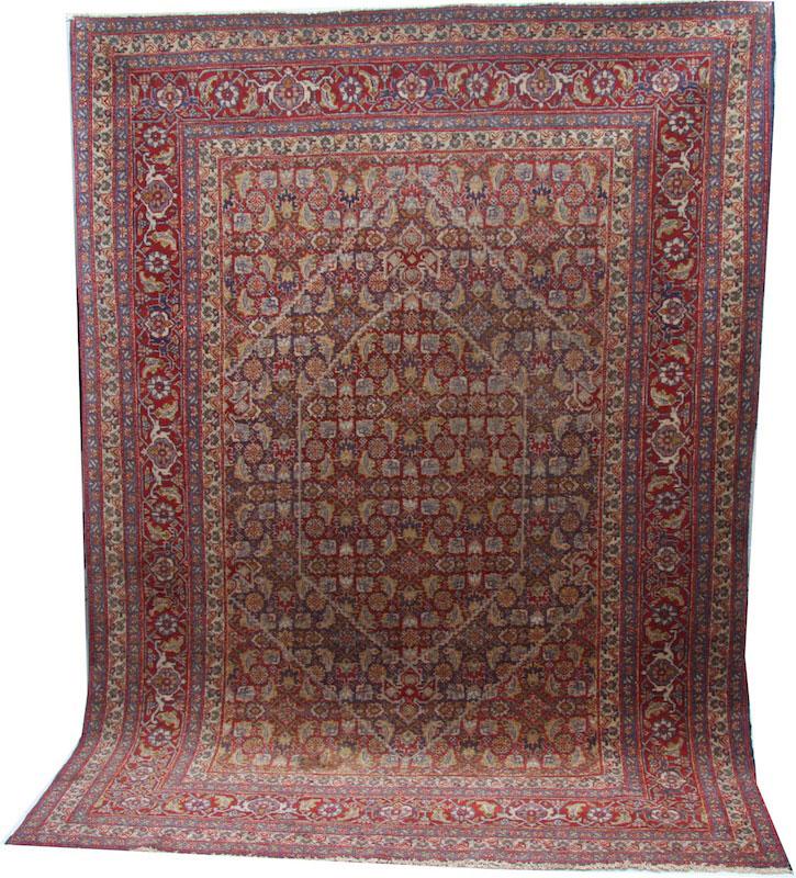 Old Tabriz Rug c1900
