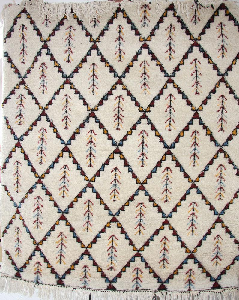 Handmade Wool Moroccan Rug