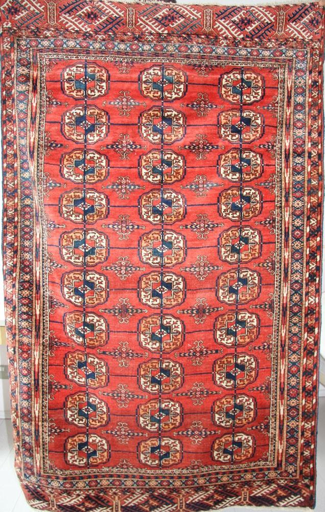 Orange Bokhara Rug c1920
