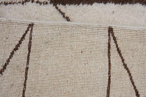 handmade wool Moroccan rug 245 x 165cm