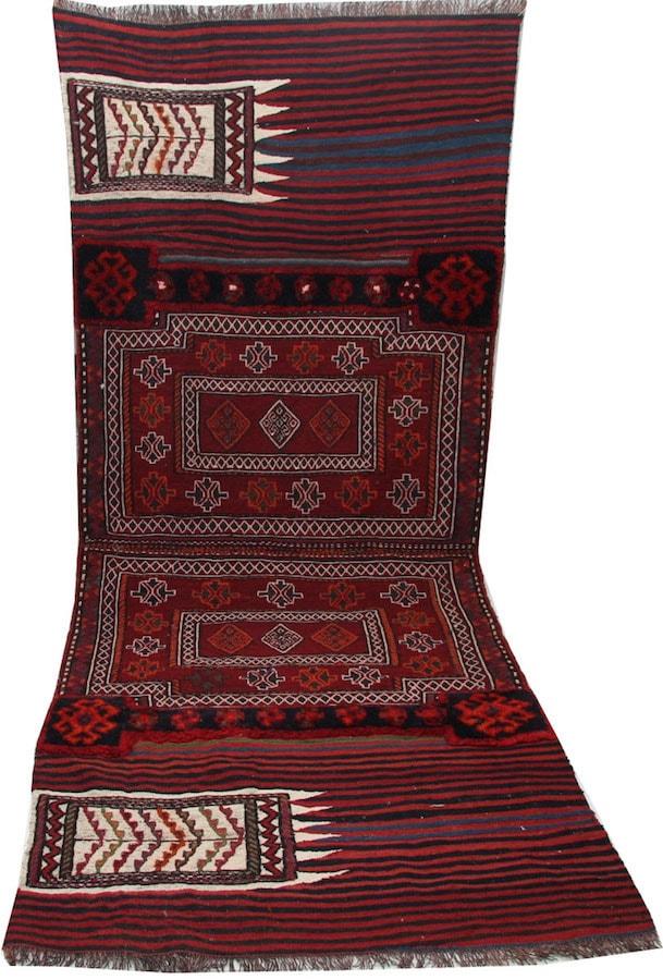 Persian Bakhtiari Patchwork Rug