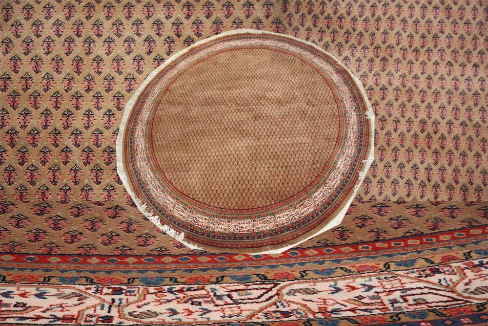Persian Mir circular rug 250cm diameter