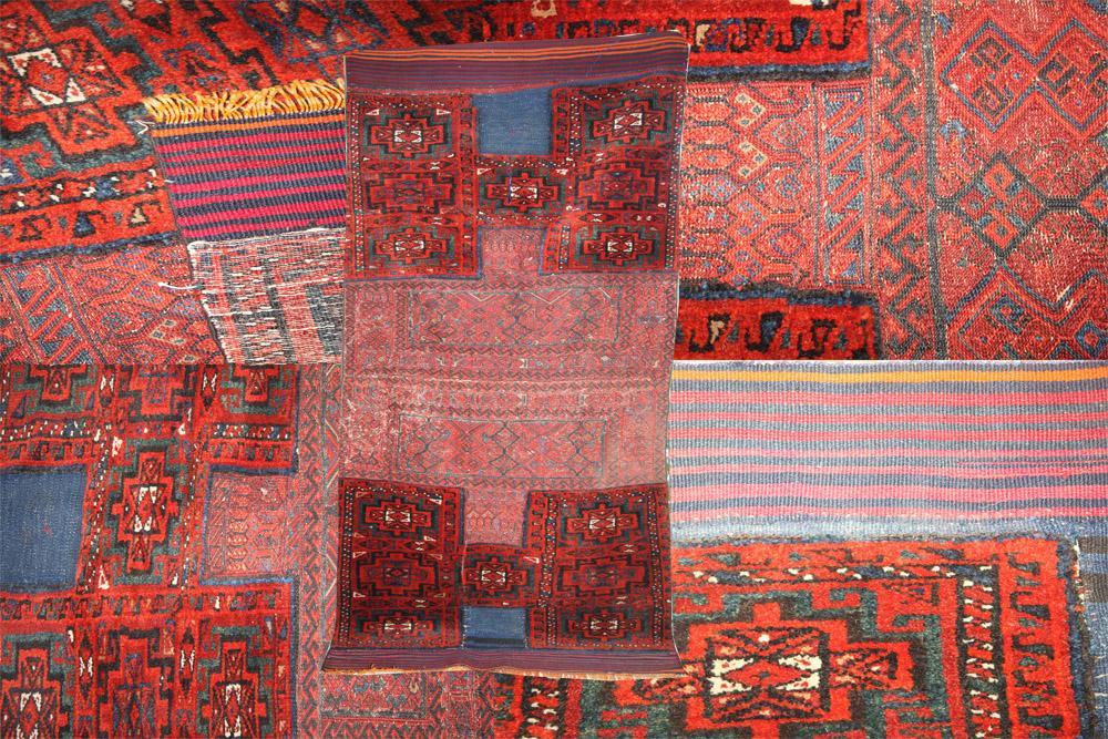Persian Sumac Patchwork Rug