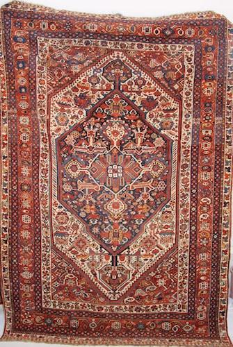 Antique Qashqai Rug c1910