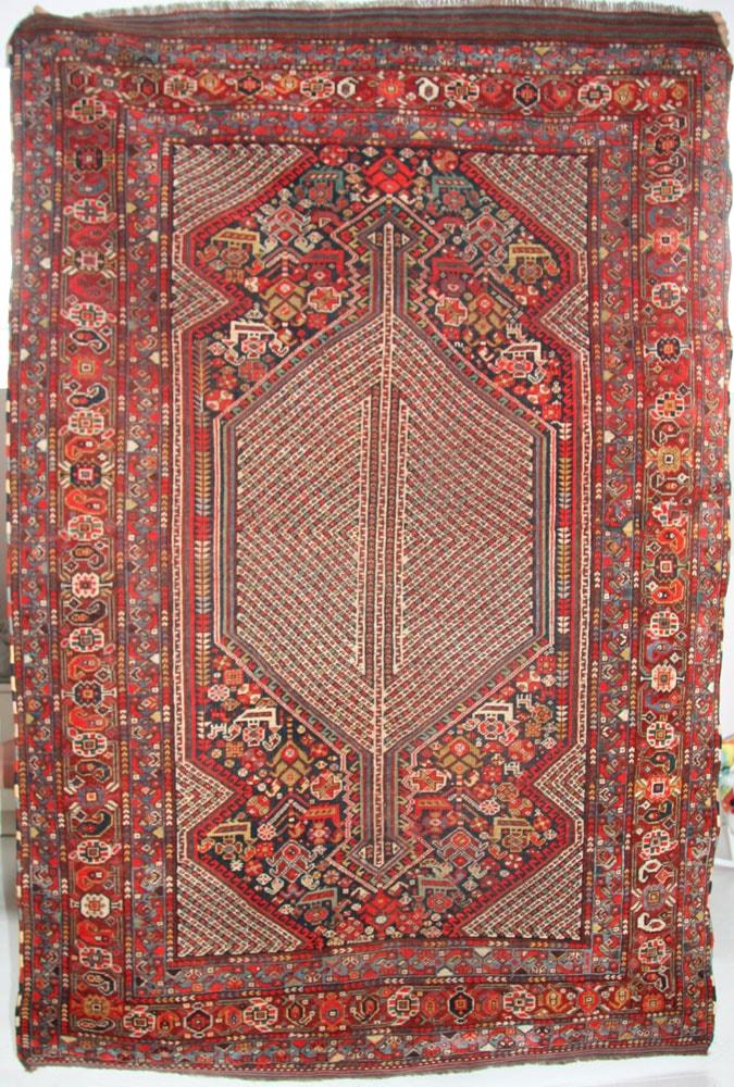 Tribal Qashqai Rug 200 x 135cm