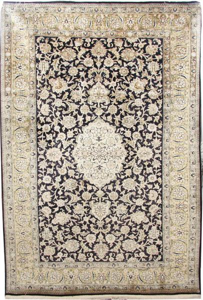 Silk Qom Rug 160 x 108cm