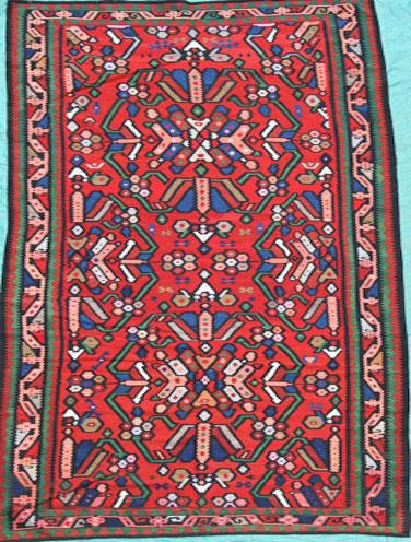 Turkish Kelim 336 x 162 cm